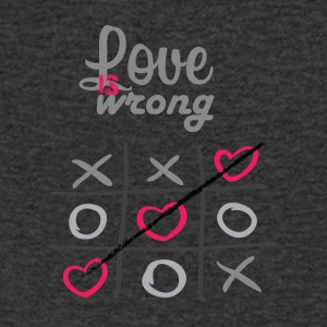 LOVE IS WRONG - Men's V-Neck T-Shirt