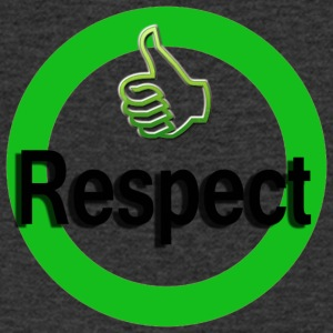 Respect - Men's V-Neck T-Shirt