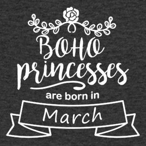 Boho Princesses are born in March - Men's V-Neck T-Shirt