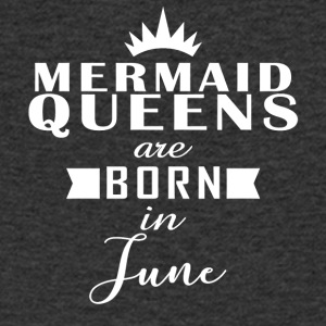Mermaid Queens juni - Mannen T-shirt met V-hals