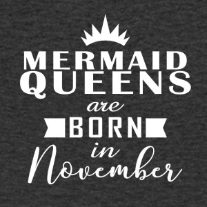 Mermaid Queens November - Men's V-Neck T-Shirt