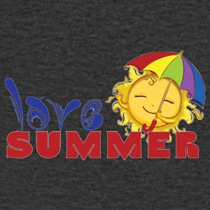 LOVE SUMMER - Men's V-Neck T-Shirt