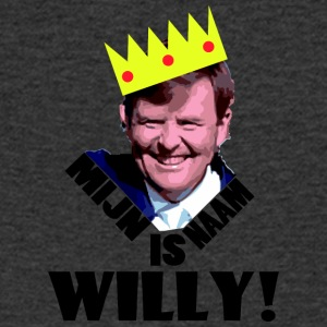 Mijn naam is Willy! - Mannen T-shirt met V-hals