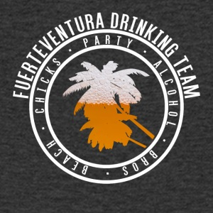 Shirt party holiday - Fuerteventura - Men's V-Neck T-Shirt