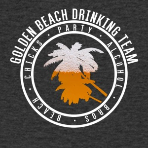 Shirt party holiday - Gold beach - Men's V-Neck T-Shirt