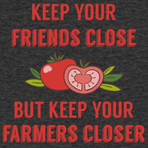 Farmer / Farmer / Farmer: Keep your friends close - Men's V-Neck T-Shirt