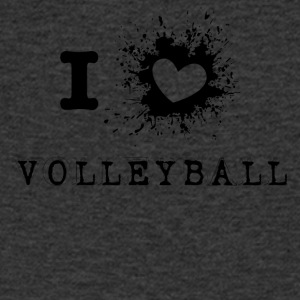 iLove Volleyball - Men's V-Neck T-Shirt