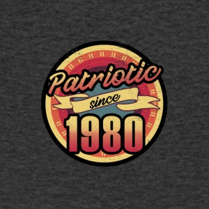 Gift for the 37th birthday - vintage 1980 - Men's V-Neck T-Shirt
