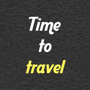 Time to travel - Men's V-Neck T-Shirt
