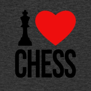 I LOVE CHESS - Men's V-Neck T-Shirt