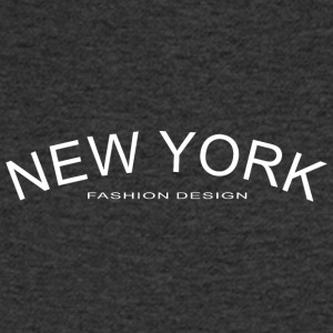 NEW YORK FASHION DESIGN - Koszulka męska Canvas z dekoltem w serek