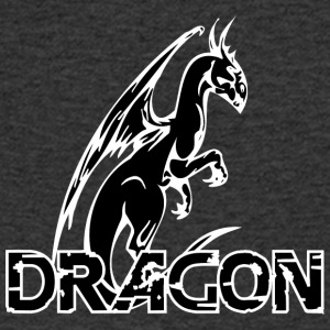 vistas dragon black - T-shirt med v-ringning herr