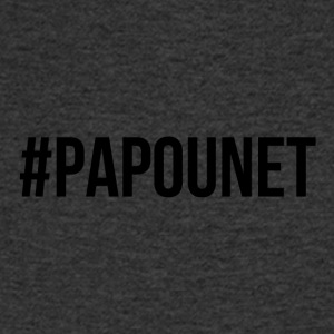 papounet - T-shirt Homme col V