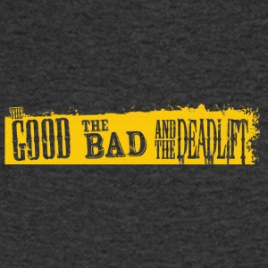 The good the bad and the deadlift effect - Men's V-Neck T-Shirt