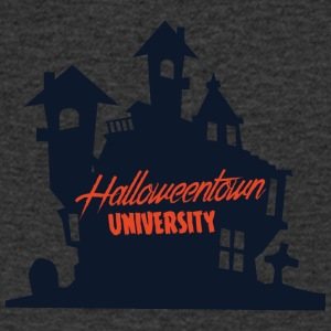 Halloween: Halloween Town universitet - T-skjorte med V-utsnitt for menn