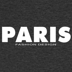PARIS FASHION DESIGN - T-skjorte med V-utsnitt for menn