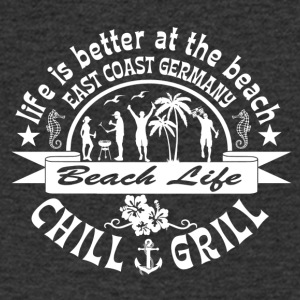Chill Grill East Coast - Mannen T-shirt met V-hals