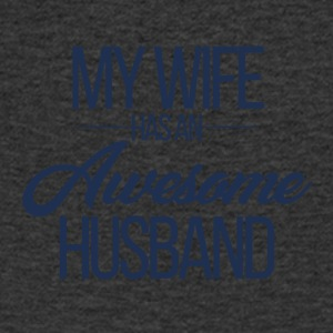 Wedding / Marriage: My Wife has an awesome Husband - Men's V-Neck T-Shirt