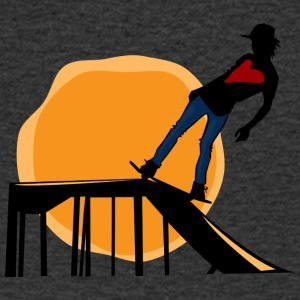 Skater - Men's V-Neck T-Shirt