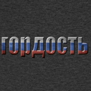 RUSSIA PRIDE - Men's V-Neck T-Shirt