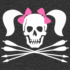 Pirate Archer Girl - T-shirt Homme col V