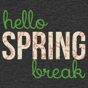 Spring Break / Spring Break: Hei Spring Break - T-skjorte med V-utsnitt for menn