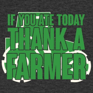 Farmer / Farmer / Farmer: If you ate today, thank - Men's V-Neck T-Shirt