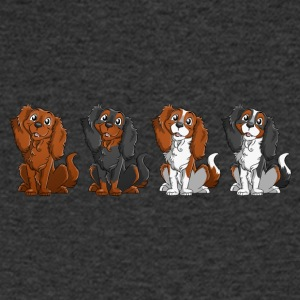 Cavalier King Charles - Line - Men's V-Neck T-Shirt