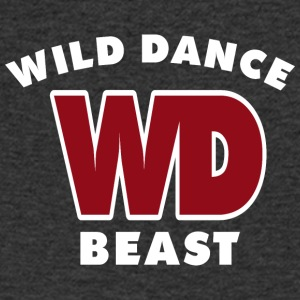 WILD DANCE BEAST - Men's V-Neck T-Shirt