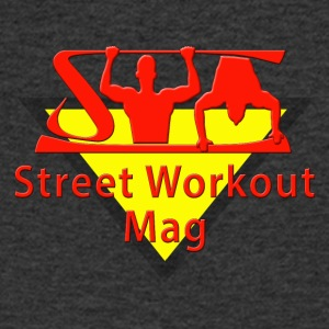 LOGO STREET WORKOUT MAG POUR FOND BLANC - T-shirt Homme col V