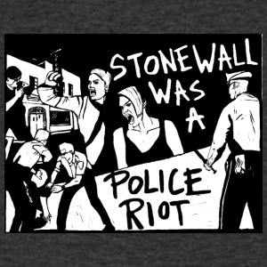 Stonewall was a police riot - Men's V-Neck T-Shirt