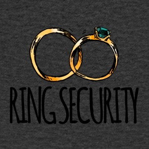 Wedding / Marriage: Ring Security - Men's V-Neck T-Shirt