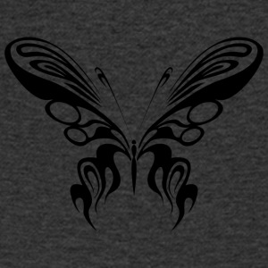 Tribal Butterfly Tattoo / Papillon / Papillon - T-shirt Homme col V
