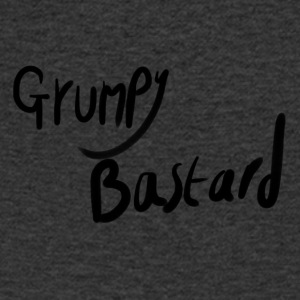 Grumpy Bastard - Men's V-Neck T-Shirt