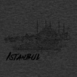 Istanbul - city view sketch - Men's V-Neck T-Shirt