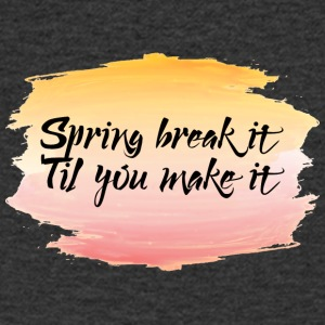 Spring Break / Spring Break: Spring Break it'til - T-shirt Homme col V