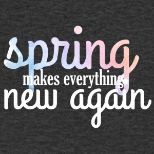 Spring Break / Spring Break: Spring maakt Everythin - Mannen T-shirt met V-hals