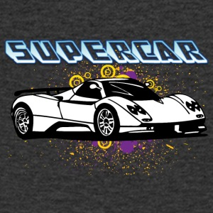 Supercar white - Men's V-Neck T-Shirt