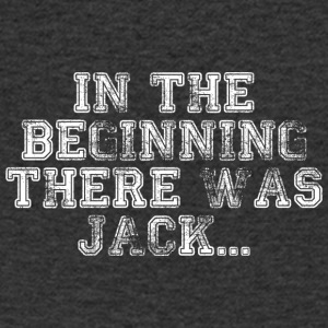 In The Beginning There Was Jack... - T-shirt Homme col V