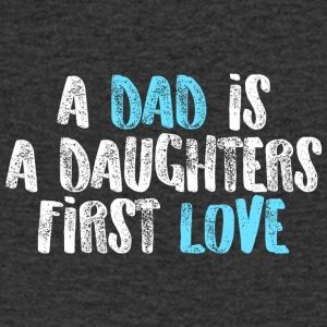 A dad is a daughters first love - Men's V-Neck T-Shirt