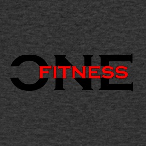 ONE FITNESS Logo (Without Globe) - Men's V-Neck T-Shirt
