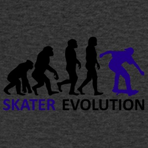 ++ ++ Skater Evolution - T-skjorte med V-utsnitt for menn