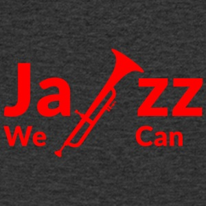 JAZZ WE CAN - rouge - T-shirt Homme col V