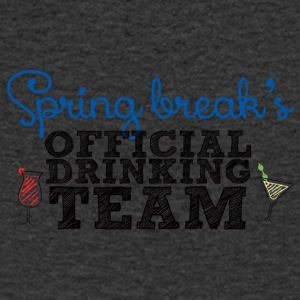 Spring Break's Official Drinking Team - Men's V-Neck T-Shirt