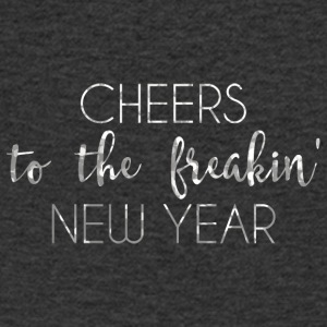 New Years Eve: Cheers To The Freakin' New - Men's V-Neck T-Shirt