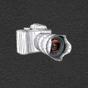 CAM photographie pic - T-shirt Homme col V