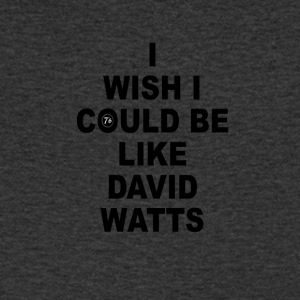 DAVID WATTS - Mannen T-shirt met V-hals