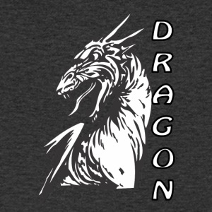 Angry dragon 2 - Mannen T-shirt met V-hals