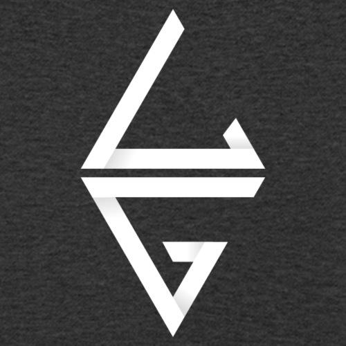 LG Logo - Männer Bio-T-Shirt mit V-Ausschnitt von Stanley & Stella