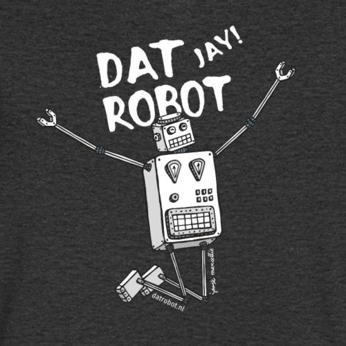 Dat Robot: The Joy of Life - Mannen bio T-shirt met V-hals van Stanley & Stella
